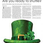 Hamburg Journal _ March _ St. Patrick's Day