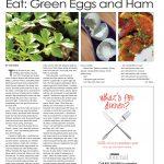 Hamburg Journal _ Green Eggs and Ham