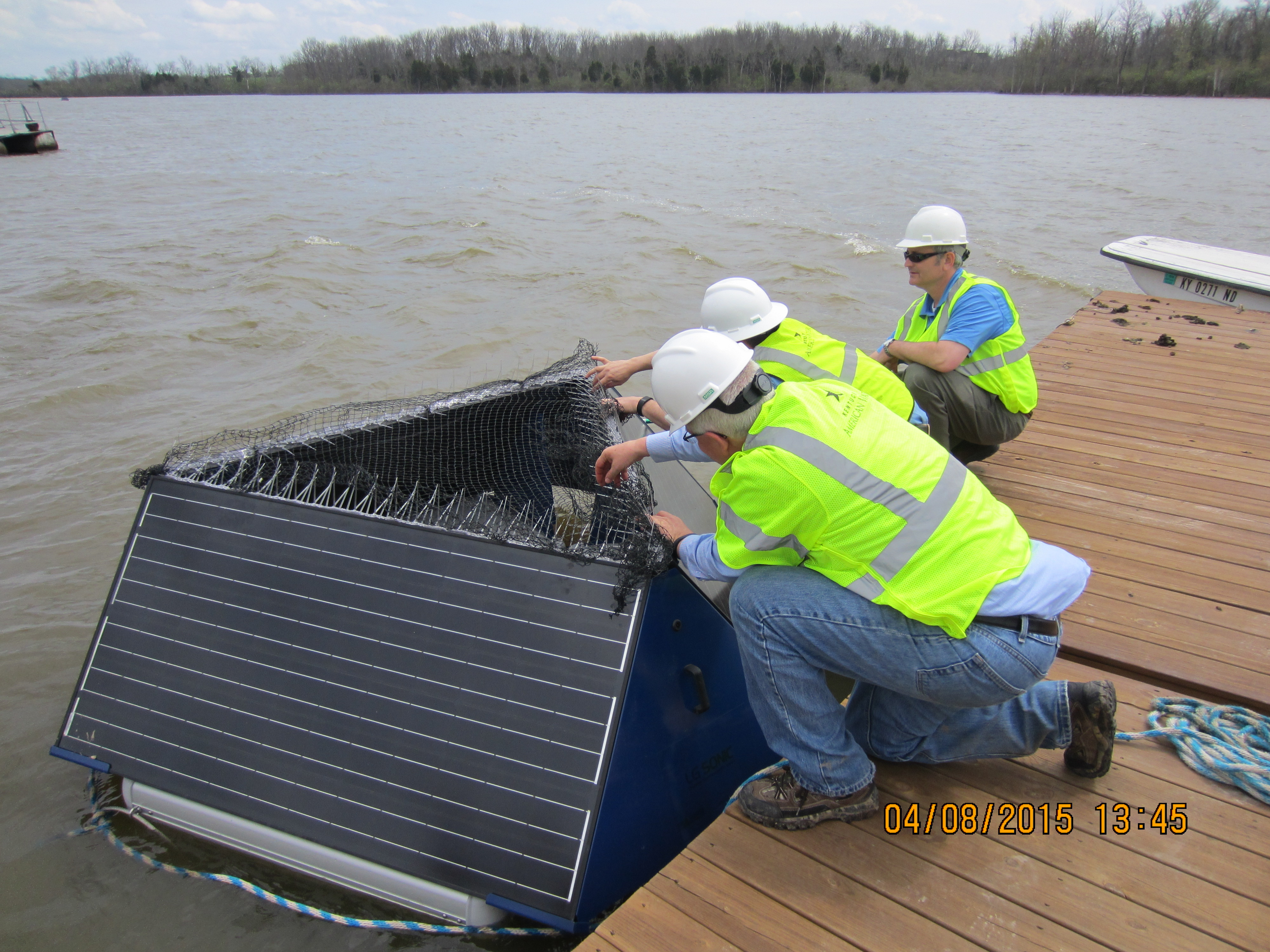 Greening up the Reservoir: New Solar-powered sonic units