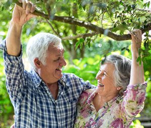 Senior News: older couple happy