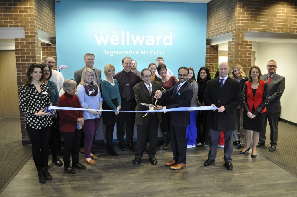 Wellward Regenerative Med Ribbon Cutting