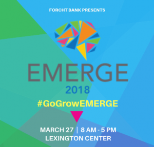 Emerge Conference flyer