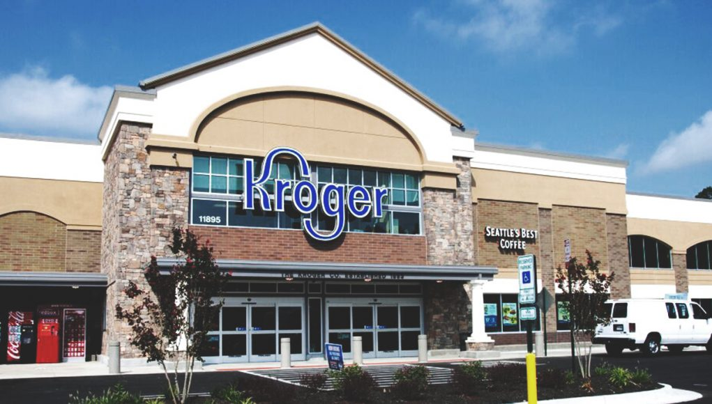 front view of Kroger