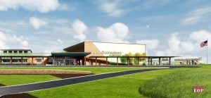 Elementary School hiring: rendering of the new elementary school