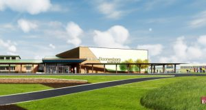 Elementary School hiring: rendering of the new elementary school