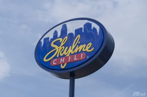 Skyline Chili restaurant sign