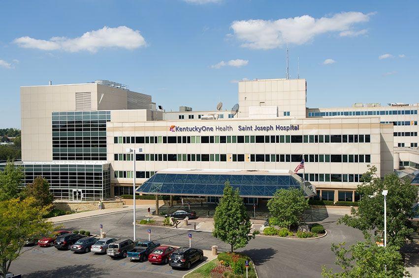aerial view of Saint Joseph Hospital