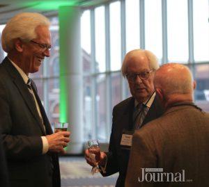 commerce lexington: 3 men having drinks