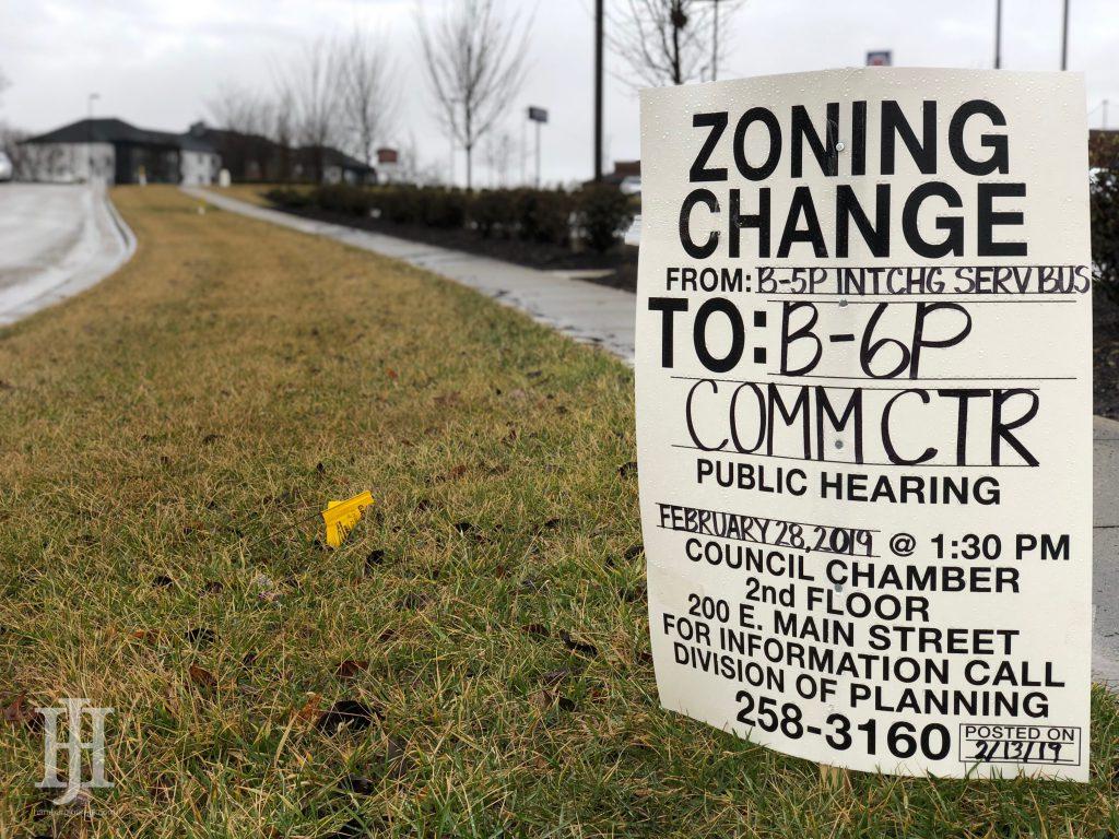 What is the Zoning Change on Pleasant Ridge Drive   Hamburg ...
