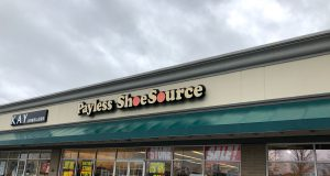 neighborhood: payless store front outside