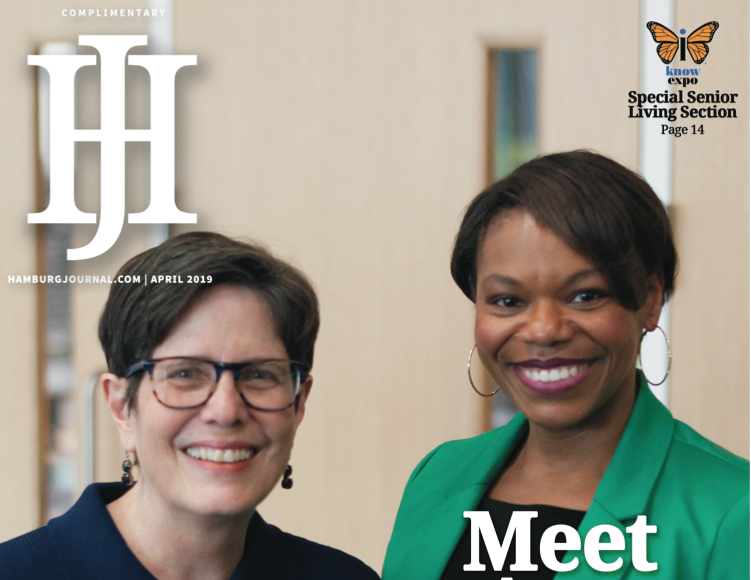 digital issue Legend: two women on the cover of a newspaper
