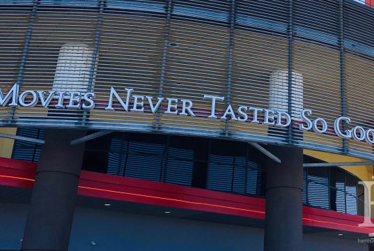 """Movie Tavern: """"movies never tasted so good"""" on a theater"""