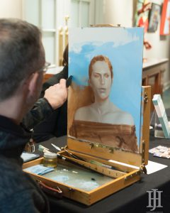 LexArts: artist doing a live painting