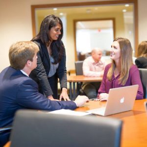 University of Kentucky: people in business attire