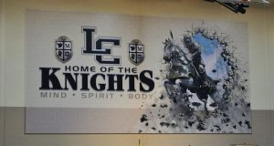 logo that says Lexington Catholic Knights