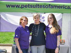 Pet: three women smiling at the camera
