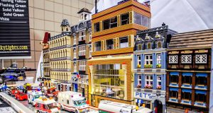 LEGO Convention: a town built out of LEGOs