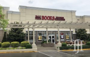 outside view of Half Price Books