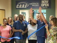 Business: ribbon cutting