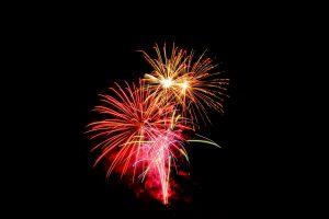 Lexington: fireworks