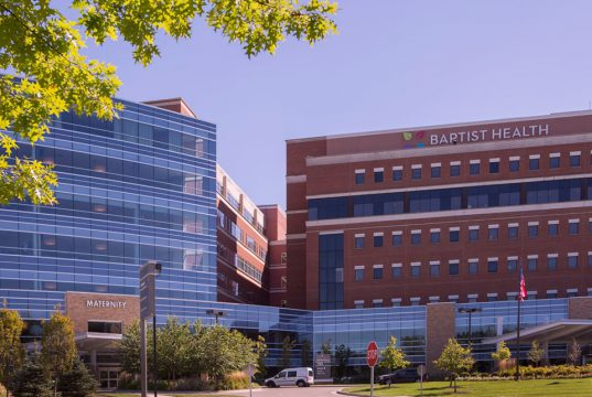 outside picture of Baptist Health Lexington