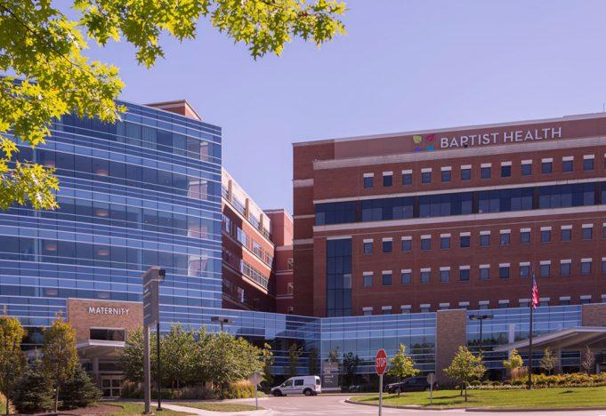 outside picture of Baptist Health Lexington
