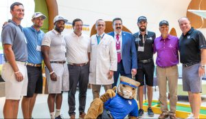 Health: doctors and athletes smiling at the camera