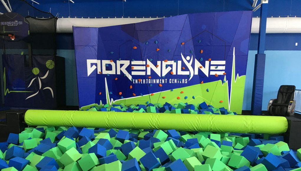 Adrenaline Lexington Business: a pit full of foam