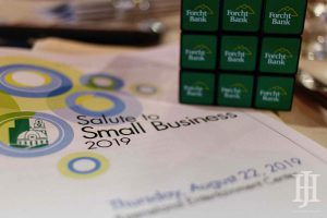 Small Business: booklet and rubics cube