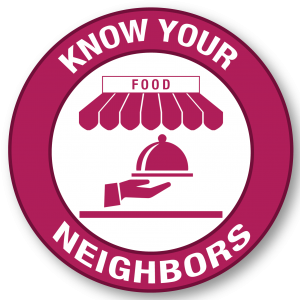 Health: logo that says know your neighbors