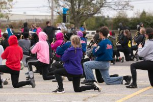 Family: kids playing band instruments