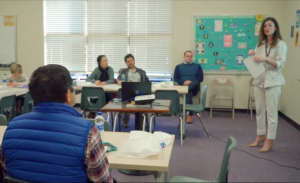 Family: classroom with older adults