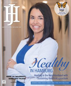 Dr. Kinzig on cover of Hamburg Journal April 2020 Issue
