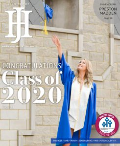 June 2020 cover of Hamburg Journal